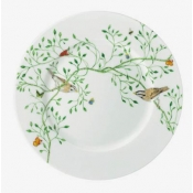 Wing Song Salad Plate (Brown Bird)