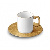 Han Gold Espresso Cup + Saucer