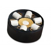 Espresso Cup + Saucer  (Gift Box of 6)