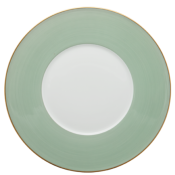 Haviland Parlon Lexington Celadon Presentation Plate -12""