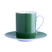 Haviland Parlon Lexington Emerald Tall Cup & Saucer