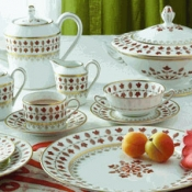 Matignon Rust Five Piece Place Setting