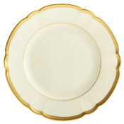Colette Gold Bread and Butter Plate