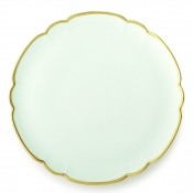 Colette Gold Round Cake Plate