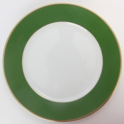Arc En Ciel Empire Green Presentation Plate