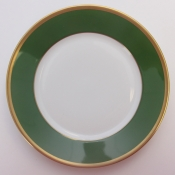 Arc En Ciel Empire Green Bread and Butter Plate