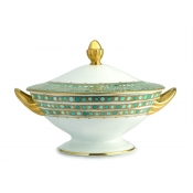 Syracuse Turquoise Soup Tureen