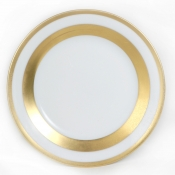 William Gold Bread and Butter Plate