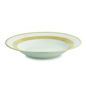William Gold Rim Soup Plate
