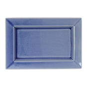 Tourron Blue Chardon Rectangular Dish - Medium
