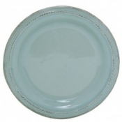 Berry and Thread Ice Blue Round Side Plate