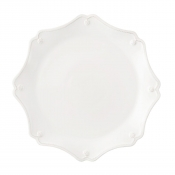 Berry and Thread Scallop Charger Plate