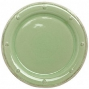 Berry and Thread Pistachio Green  Round Dinner Plate