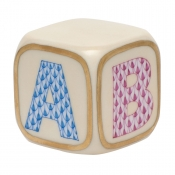 Herend ABC Cube Baby Block