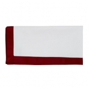 Juliska Ribbon Pique Ruby Napkins / Set 8