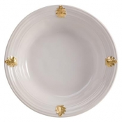 Acanthus Gold Serving Bowl - Medium