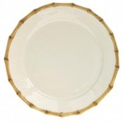 Classic Bamboo Round Charger Plate