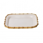 Small Rectangular Platter Natural
