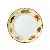 Lynn Chase Exotica Salad Plate - Set 4