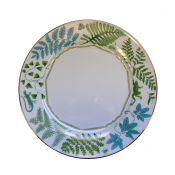 Lynn Chase Fern Fantasy Dinner Plate - Set 4