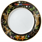 Lynn Chase Jaguar Jungle Dinner Plate