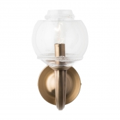 Juliska Dean Double Shade on Paris Sconce - Brass