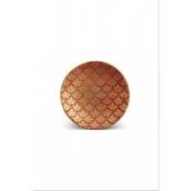 Fortuny Canape Plates / Set 4  - Canestrelli Orange