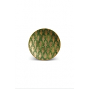Fortuny Canape Plates / Set 4 - Piumette Green