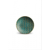 Fortuny Canape Plates / Set 4 - Tapa Teal