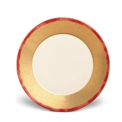 Fortuny Dinner Plate / Set 4  - Red