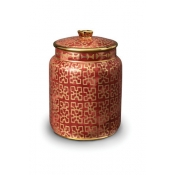 Fortuny Canister - Ashanti Red - Small