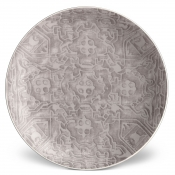 Fortuny Dessert Plate - Moresco Platinum / Set 4