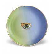 L'Objet Lito-Eye Canape Plate-Green+Blue