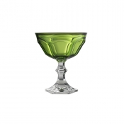 Dolce Vita Footed Coupe - Green