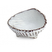 Marina White Shell Dipping Bowl (1 pc)  (New)