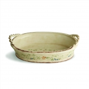 Medici Oval Bowl with Rope Handles