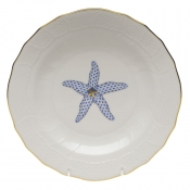Aquatic Starfish Dessert Plate
