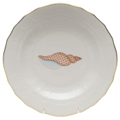 Aquatic Shell Dessert Plate