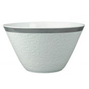 Mineral Platinum Cone Shaped Saladbowl