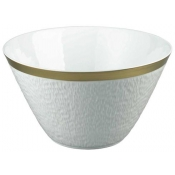Mineral Gold Salad bowl coned shaped