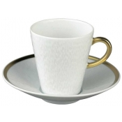Mineral Gold Coffee cup and saucer