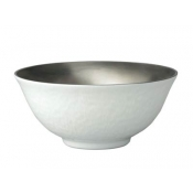 Mineral Platinum Soup Bowl Full Platinum Inside