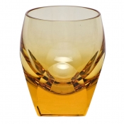 Shot Glass 1.5 Oz. Cut Topaz
