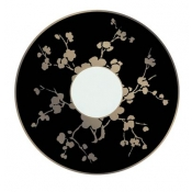 Ombrages Cream Soup Saucer Black