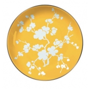 Ombrages Buffet Plate Yellow
