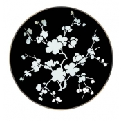 Ombrages Buffet Plate Black