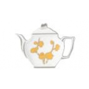 Ombrages Tea Bag Holder Yellow