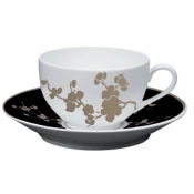 Ombrages Set 2 Breakfast Cup & Saucer