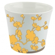 Ombrages Candle Pot Yellow