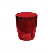 Optical Red Double Old Fashioned Glass